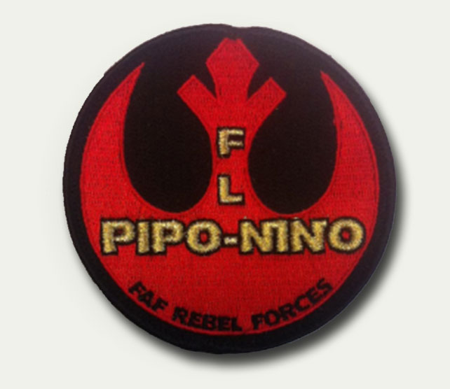Patch rond Pipo-Nino - 6 euros