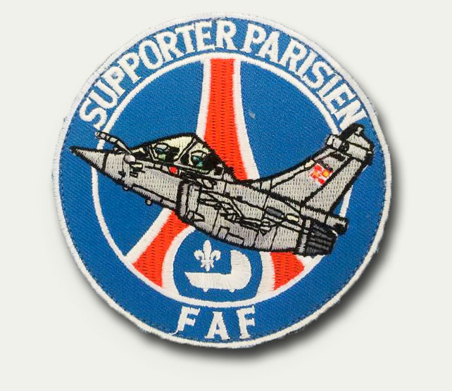 Patch rond PSG - 6 euros