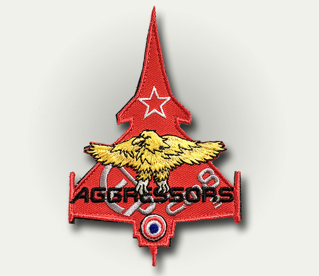Patch silhouette Aggressors TLP - 8 euros