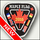 Patch officiel Maple Flag 2016 - 6 euros