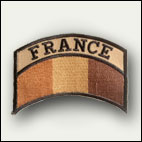 Patch drapeau France sable - 5 euros