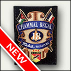 Patch rectangulaire Chammal Regal GB 43 - 10 euros