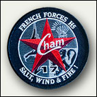 Patch rond Chammal 17 - 8 euros