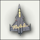 Patch silhouette Rafale - 6 euros